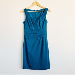 Banana Republic | Peacock Blue Cocktail Dress | 2